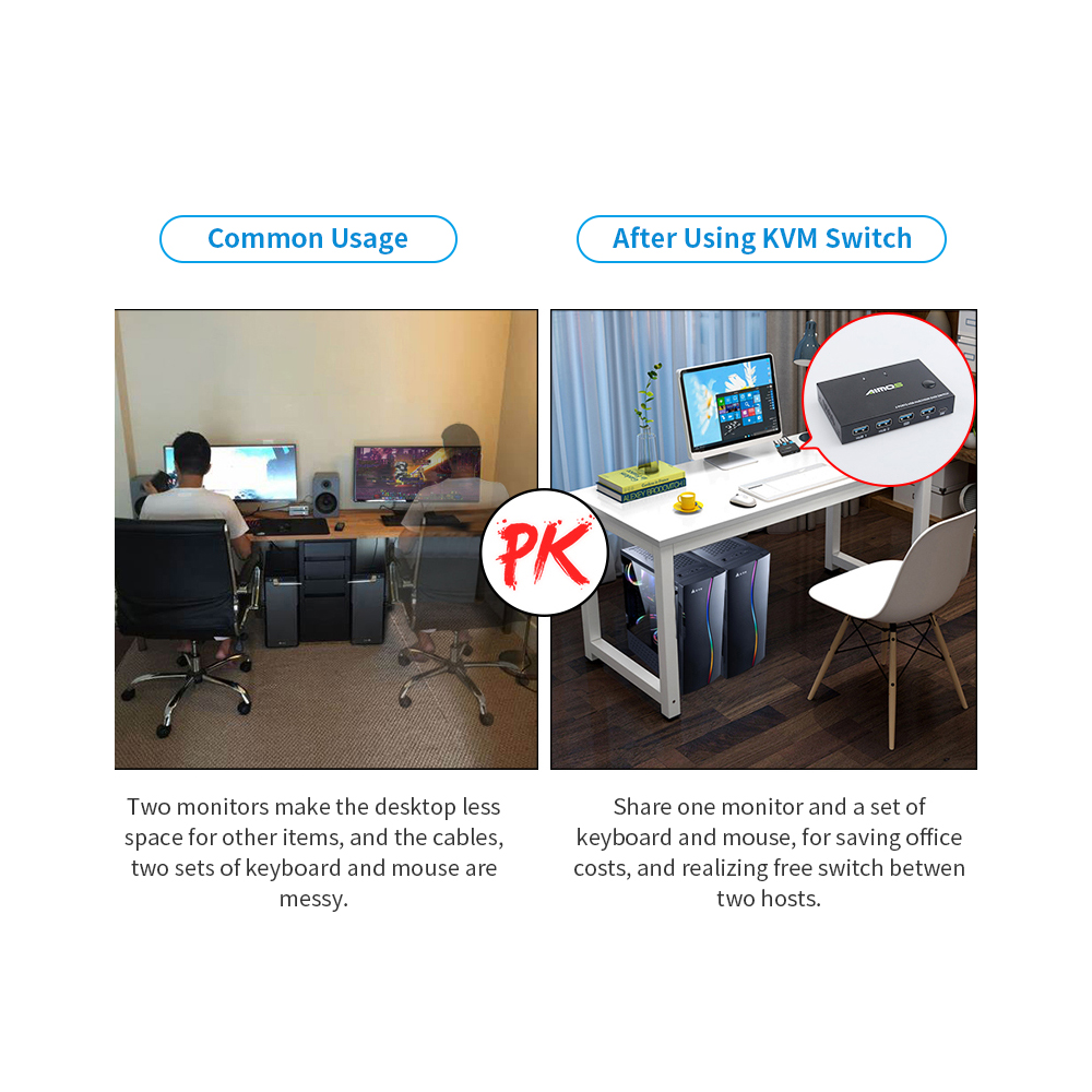kvm switch, divisor de 10gbps, usb para