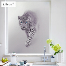 Stained Opaque Privacy Film Window Frosted Glass Stickers Static Cling No Glue Removable Dicor Genuine Matte Films