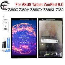 Полный ЖК-дисплей для планшета ASUS ZenPad 8,0 Z380KL Z380C Z380M Z380CX Z380, ЖК-дисплей, сенсорная панель, дигитайзер в сборе, комбинированный ЖК-дисплей