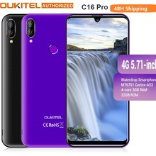 OUKITEL 4G LTE Mobile Phone C16 Pro 5.71 inch Android 9.0 19