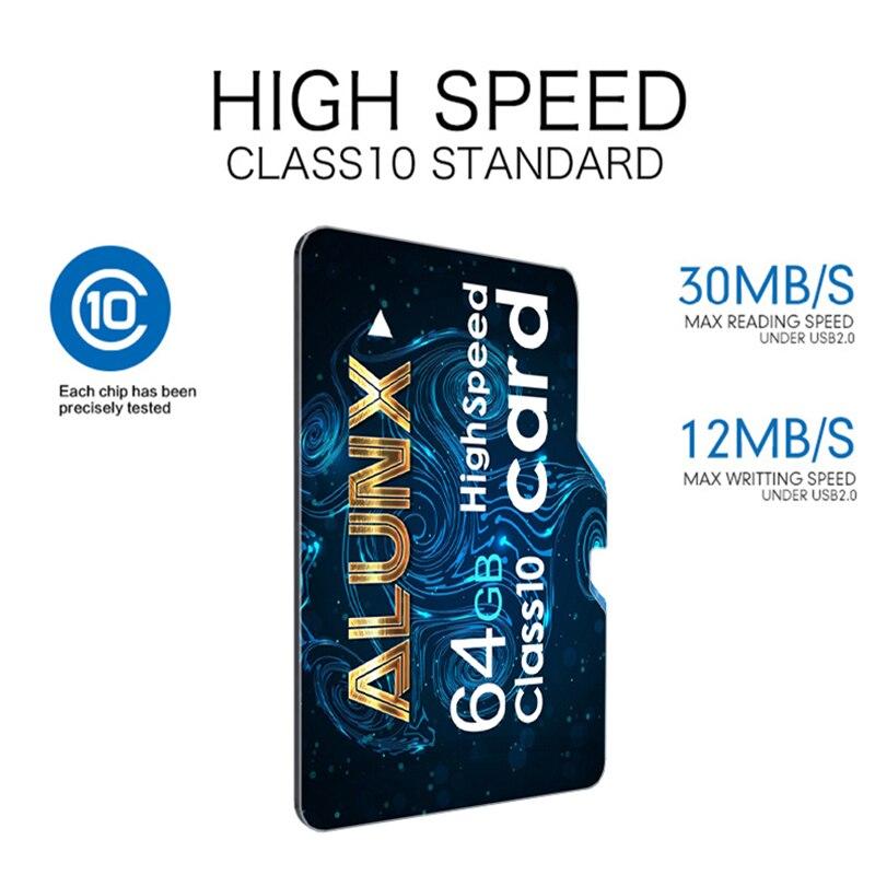 Micro SD карта памяти 8, 16, 32, 64, 128, 256 ГБ, класс 10, TF флэш-карта памяти, 256 ГБ, 128 ГБ, 64 ГБ, 32 ГБ, 16 ГБ, 8 ГБ для адаптера смартфона