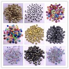 30 stücke 10mm 12mm Lächelndes Gesicht Liebevolles Herz Brief Acryl Lose Spacer Perlen für Schmuck Machen DIY Kinder handgemachte Accessoires