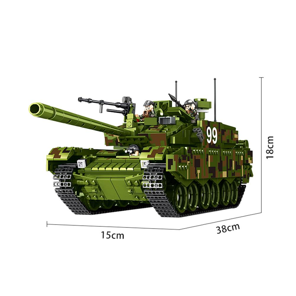 hot military technic ww2 army Heavy main battle tank war Building Blocks model mini soldier figures brick toys for children gift in Blocks from Toys Hobbies