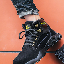 Winter Men Boots Sneakers Casual-Shoes Snow Waterproof Indestructible Warm DAILOU
