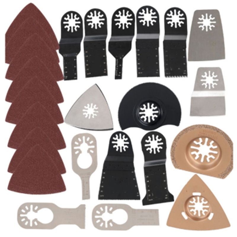 41Pcs Oscillating Multitool Saw Blade Kit Set For Fein Makita Multi Tool B1 Renovator Power Tools Accessories