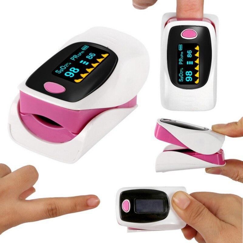 Portable Finger Oximeter Fingertip Heart Rate Household Health Monitors Pulse Oximeter Oximetro Wireless Pulse Oximeter Hot
