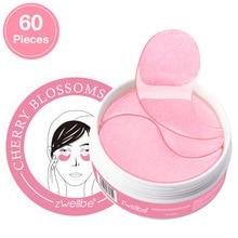 Różany kryształ maska kolagenowa na oczy różowe oko łatki na oko pielęgnacja twarzy ciemne koła usuń Anti aging żel nawilżający maska