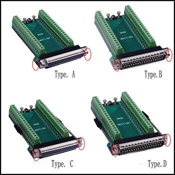 DB37 Weibliche Stecker Jack D-SUB 37 Pin Port Terminal Breakout 2 Reihe Nicht Solder Adapter Terminal für DB Kabel DB37 Stecker