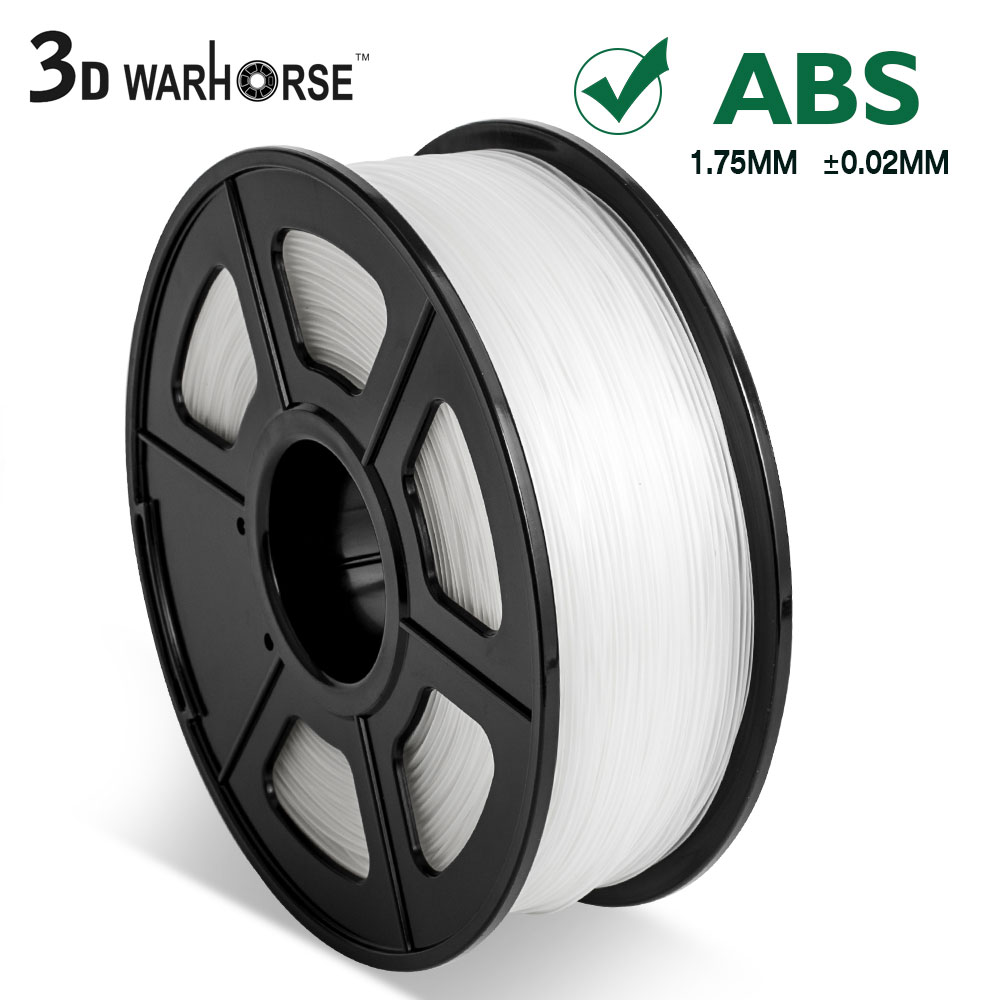 1KG/ Spool 1.75mm ABS Filament Printing Material Supplies Transparent Color For 3D Printer Drawing Pens Consumables