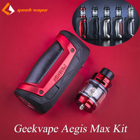 Geekvape Aegis Max 100W Kit Single 21700/18650 TC Mod With Zeus Sub Ohm Tank Mesh Z1 Coil Electronic Cigarette Kit VS Aegis Solo