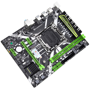 Image 3 - HUANANZHI X99 8M oyun anakart Intel X99 LGA 2011 3 E5 tüm serisi DDR4 RECC 64GB M.2 NVME USB3.0 ATX