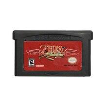 Tarjeta de cartucho para consola Nintendo GBA, The Legend Of Zeld, The Minish Cap, versión en inglés y EE. UU.