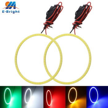 10pcs 110 mm 12V 24V COB Car LED Angel Eyes Halo Rings Constant Current Driver Universal Headlight LED Light For e39 e46 e36 e90 image