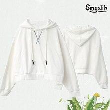 white casual knitted sweatshirt women autumn 2019 long sleeve oversized hoodies streetwear winter sweatshirts mujer