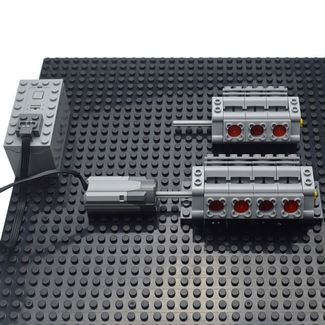 Motor multi power functions tool M L servo train motor Model building blocks Compatible All Brands 2