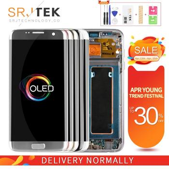 OLED For Samsung S7 edge LCD For Galaxy G935 G935F LCD For S7 edge Display Screen Touch Digitizer Assembly Replacement Parts