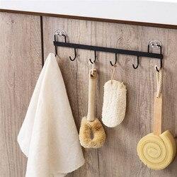 Gancho de parede organizador, sem perfuração, ferramentas para banheiro, toalha, chaveiro, organizador de cozinha, prateleira de prateleira