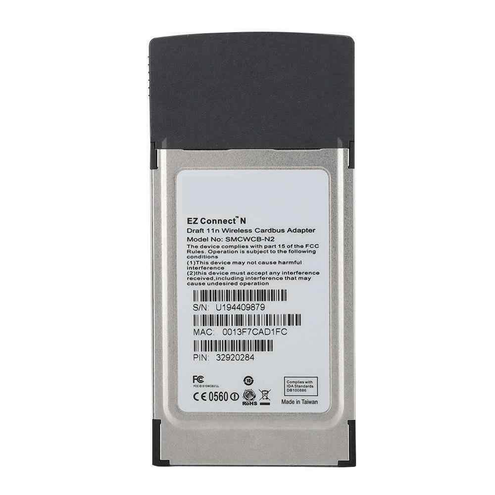 Smcwcb n2 ez connect n pro draft 802. 11n 2. 4ghz 300mbps pcmcia.