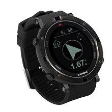 Sunroad Swimming GPS smart sports watch with altimeter barometer compass pedometer men digital wristwatch waterproof casual