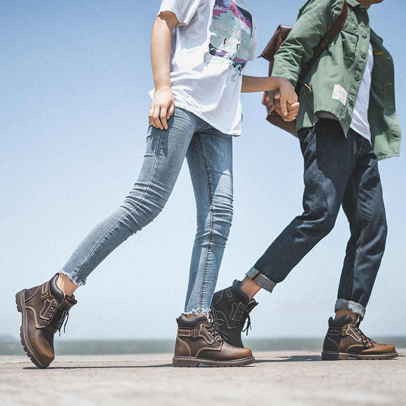 Autuspin Tactische vrouwen Laarzen Roze Lederen Platform Rubber Waterdichte Sneakers Vrouwen voor Jacht Tracking Wandelschoenen