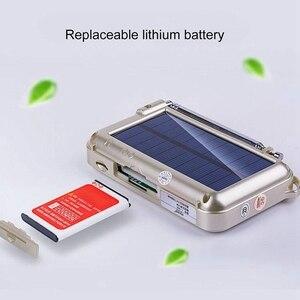Image 3 - Mini Solar Power Speaker Mp3 Audio Music Player with Led Emergency Light