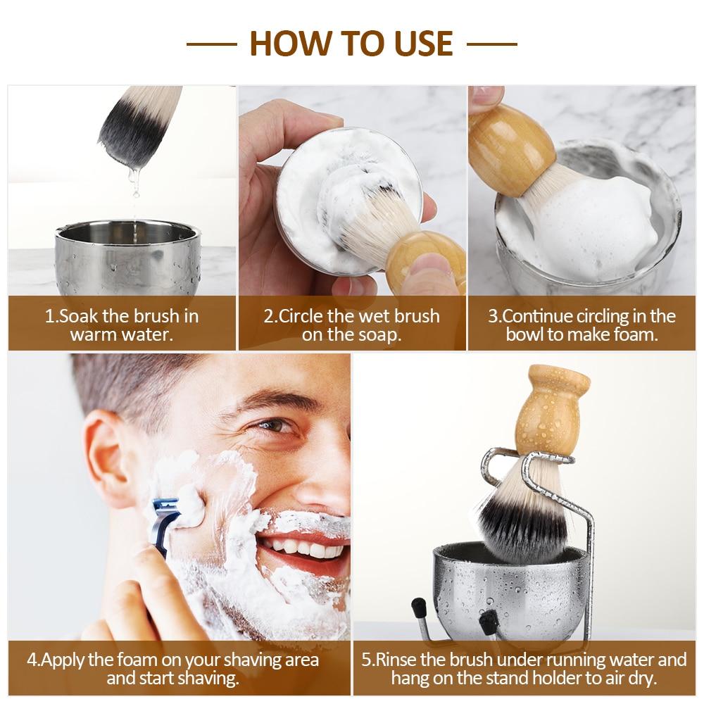 Pincel de barba
