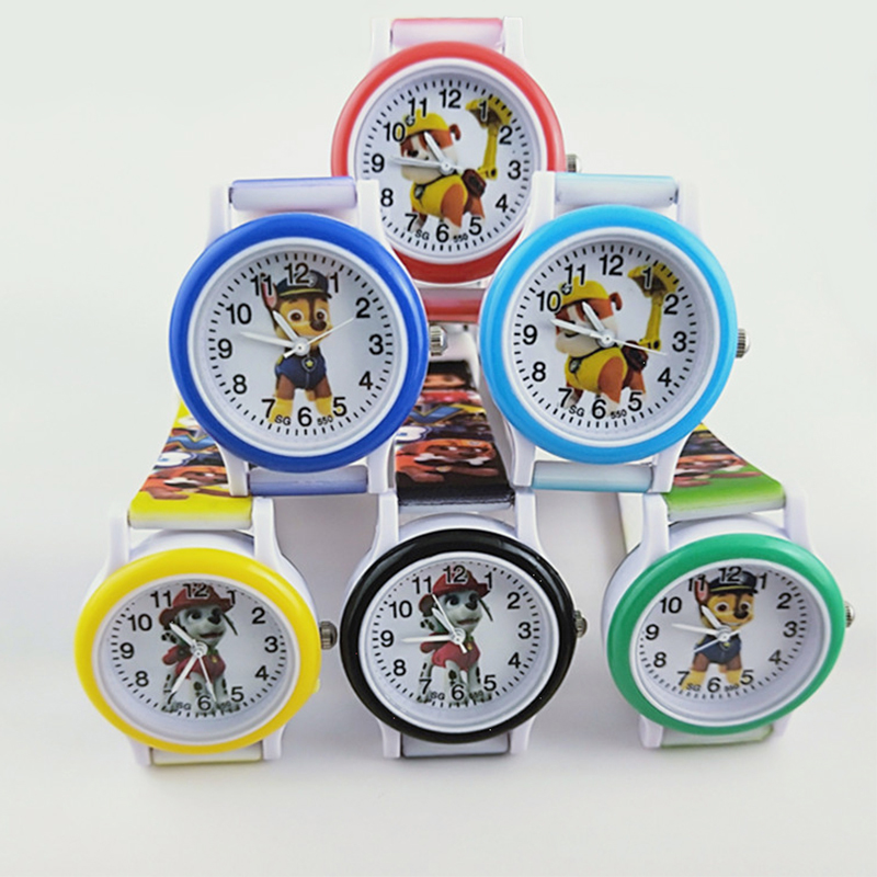Paw Patrol Watch Marshall Rubble Chase Rocky Zuma Skye Dog Everest Action Anime Figure Patrulla Canina Toy Of Children Gift