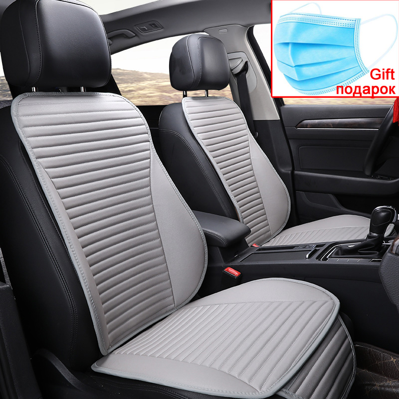 2020 Easy Clean Not Moves Car Seat Cushions, Accessories For Kia Rio  Pu Leather Non Slide Seats Cover Water Proof E1 X30