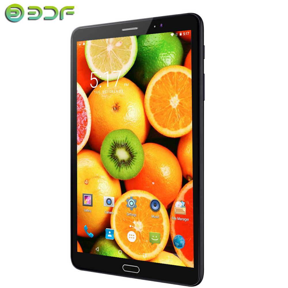 8 Inch Android 6.0 Tablet Pc 3G SIM Card Mobile Phone Call 1280*800 IPS 2.5D Screen 1GB+32GB Tablets Google WiFi Bluetooth D