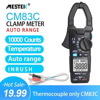 Digital Clamp Meter 600A AC Current  AC/DC Voltage Ohm True RMS Auto Range digital ammeter voltmeter VFD Capacitance NCV Tester mastech ms2008a digital clamp meters auto range clamp meter ammeter voltmeter ohmmeter w lcd backlight