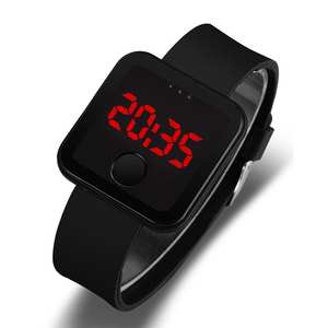 Couple Watches Montre Christmas-Present Clocks Homme Women Relogio LED Student Silicone