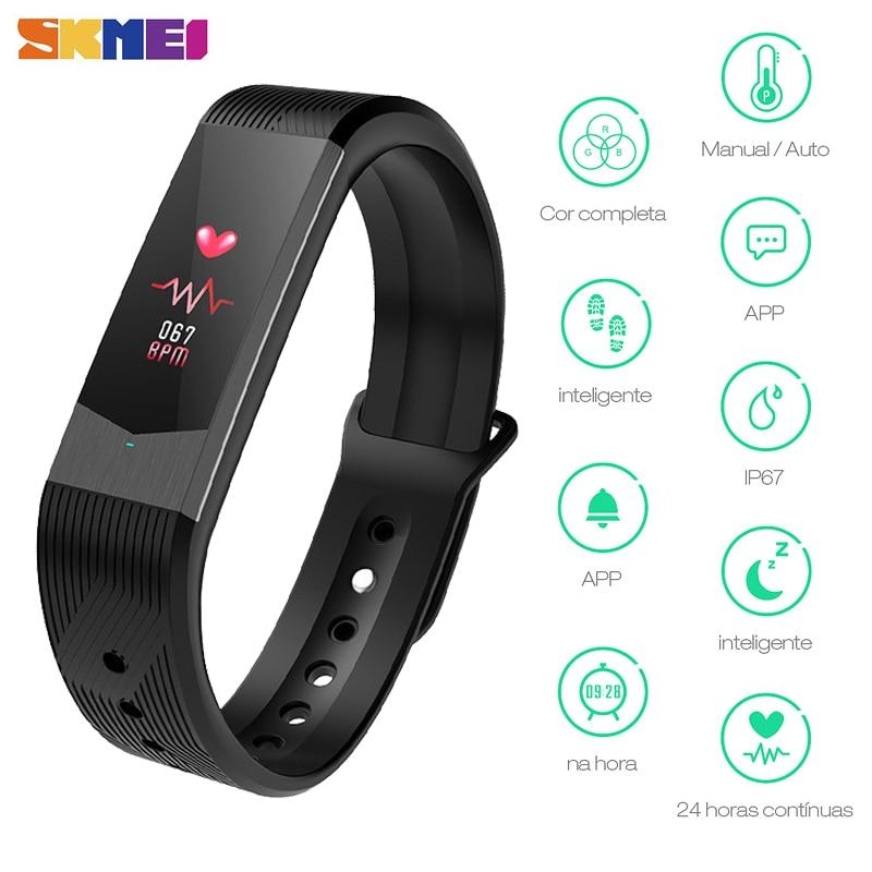 SKMEI B30 Inteligente Banda New Style Men & Women Relógios LED Várias Fuctions Digital Inteligente À Prova D' Água Homem Brecelet Relogio masculino