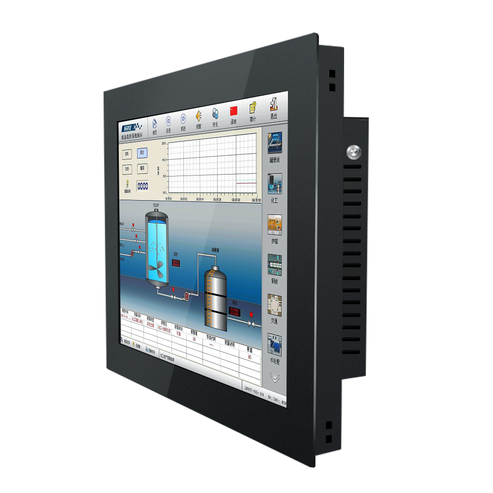 21.5 Inch Industrial Computer All In One PC Resistance Touch Screen I3 I5 Bulit-in Wifi Win7 XP Linux System Buckles Mounting