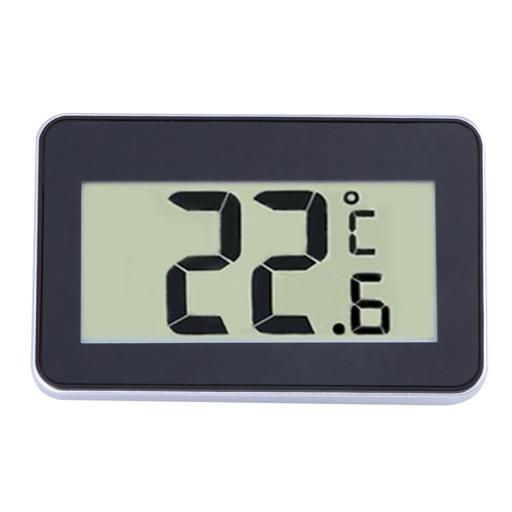 TS-A95 Mini LCD Digital Thermometer Hygrometer Waterproof Electronic Thermometer Refrigerator Temperature