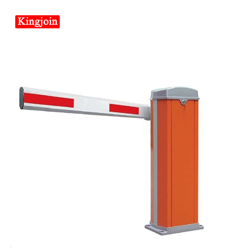 KINGJOIN Yellow Straight Parking Barrier Underground Tunnel Automatic Parking Barrier Doors For Vehicles Entering