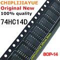 Новый и оригинальный чипсет IC 74HC14D SOP-14 SN74HC14DR 74HC14 SOP14 SMD, 10 шт.