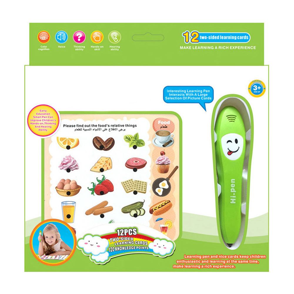 English Language Learning Reading Pen Multi-function Foreign Language Learning Machine Early Education Reading Pen For Kids