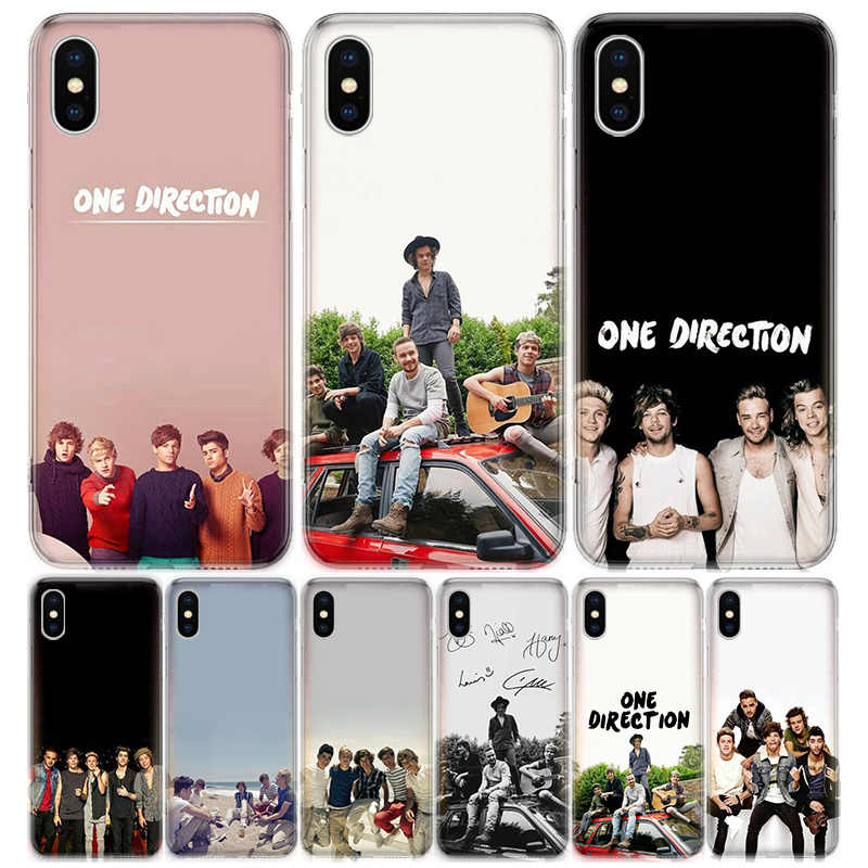 Trendy One Direction Cute Louis Tomlinson iPhone Case Walls iPhone 6 7 8 X XS XR 11 12 SE2 Louis Tomlinson Phone Case Protective