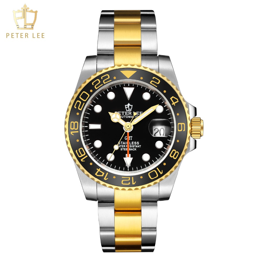 H5c1f611a20fe499ca5f485ce76a755a6b Best Watches For Men   PETER LEE Automatic Watch   Classic Ceramic bezel luxury daydate 40mm mechanical men watches noctilucous stainless steel rose gold men automatic watch
