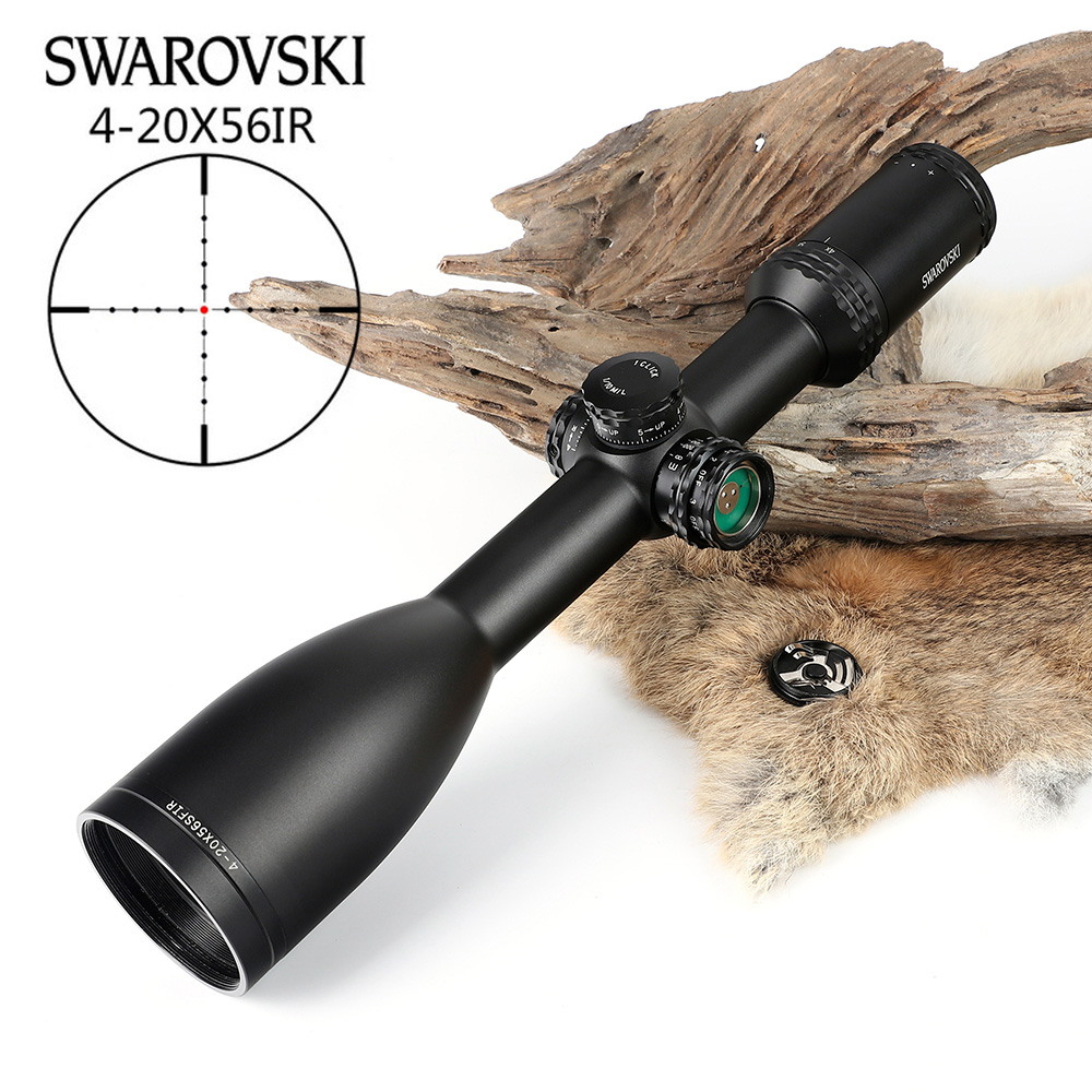 Nachahmung Swarovskl 4-20x56 SFIR Zielfernrohre Mil Dot Glas Fadenkreuz Tactical anblick Optic Jagd Zielfernrohre