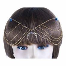 Женский аксессуар для волос с полумесяцем fun beauty комбинированные