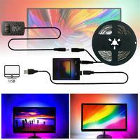 USB TV,コンピューター画面,装飾ライト,柔軟なBluetooth,ip20を備えた60/mEU/us/uk互換の防水バックライト