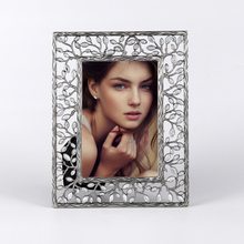 Silver Zinc Alloy Table Top Picture Frame Tree Photo Frame Precious Moments Wedding Gift Decorated Elegant giftgarden 5x7 silver alloy classic crown photo frames vintage picture frame table decoration anniversary gift wedding decor