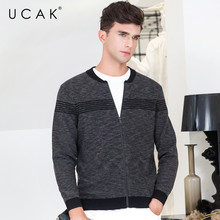 UCAK Brand Sweater Men Cotton Knitwear Clothes 2019 New Arrival Streetwear Casual Coat Men Autumn Winter Warm Cardigan Men U1011