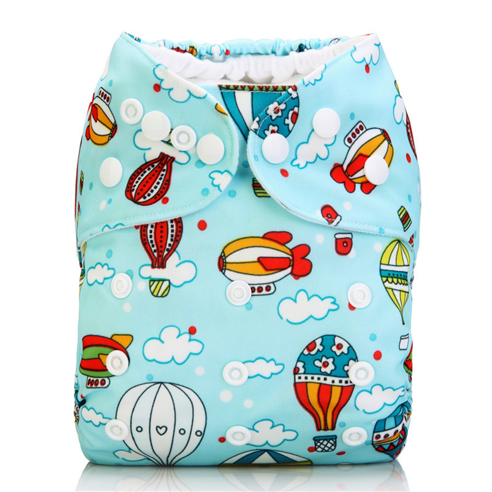 1pcs Baby Reusable Cloth Pocket Nappy Recyclable Washable Baby Diaper Popper Standard Adjustable Wrap Infant Kids Diaper Pocket