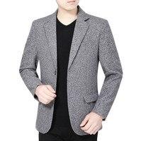 New Spring Autumn Men Brand Clothing Jacket Men's British's Style Suit Jacket Men Blazer Fashion Slim Male Casual Blazers