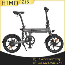 EU Warehouse HIMO Z16 Electric Bike Floding Electric Bicycles 16 Inch 250W 36V Removable Battery 3 Modes E-Bike Urban Bike