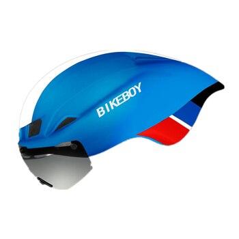 Casco de bicicleta superficie esmerilada para montar en bicicleta TT cascos de...