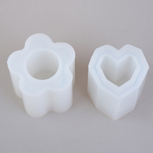 Organizer Charms Storage-Holder Silica-Molds Jewelry Pen-Container Crafts Square Making