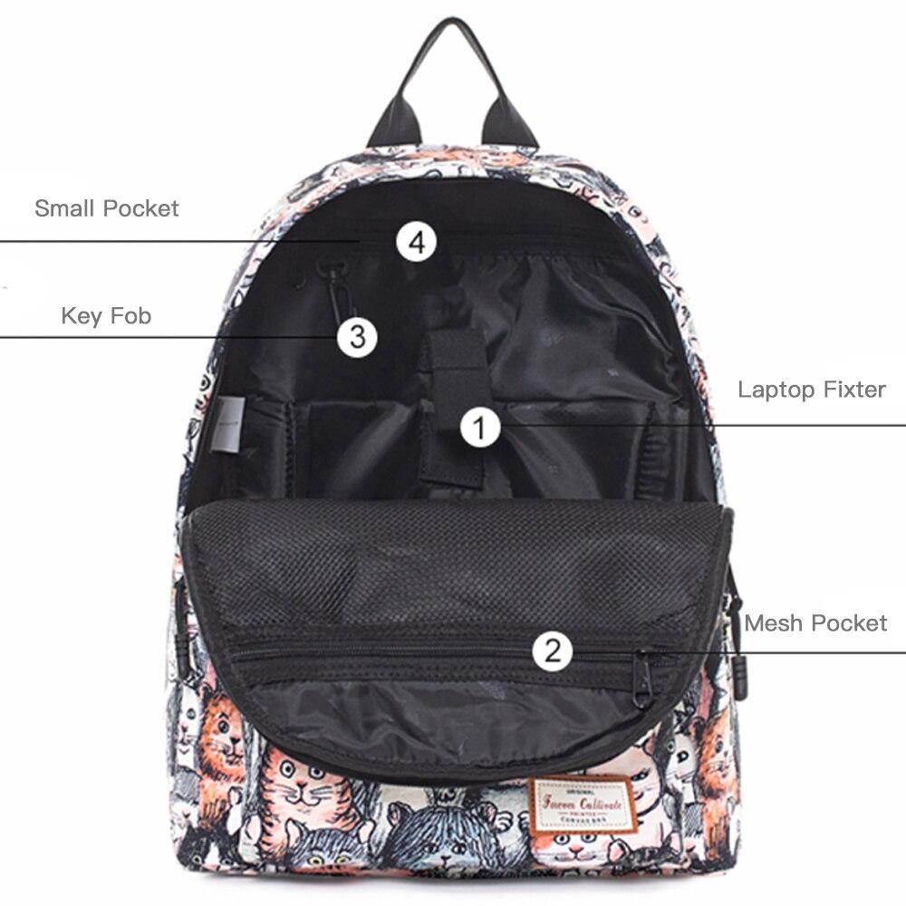 Backpack Women School Backpack for Teenage Girls Fashion Mochila Feminina Mujer Female Laptop Bagpack Travel Bags Lady Sac A Dos